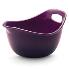 Stoneware 3 Quart Mixing Bowl in Purple