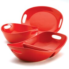 Stoneware 3-Piece Serving Set