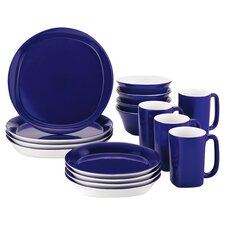 <strong>Rachael Ray</strong> Round & Square 16-Piece Dinnerware Set