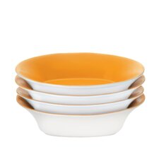 Round and Square Soup/Pasta Bowl (Set of 4)