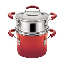 Porcelain II Nonstick 3-qt. Covered Multi-Pot