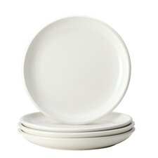 Rise 4-Piece Stoneware Dinner Plate Set (Set of 4)