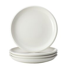 Rise 4-Piece Stoneware Salad Plate Set (Set of 4)