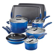 Porcelain II Nonstick 12 Piece Cookware Set