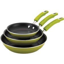 Porcelain II 3-Piece Non-Stick Skillet Set