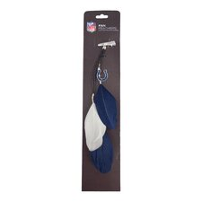 NFL Fan Feather Hair Clip