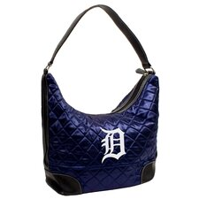 MLB Quilted Hobo Bag