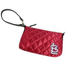 MLB Quilted Wristlet Bag