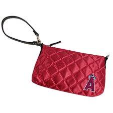 MLB Quilted Wristlet Bag