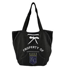 MLB Sport Noir Hoodie Shopper Tote Bag