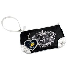 <strong>Little Earth</strong> NHL Sport Luxe Fan Wristlet Bag