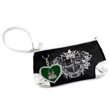 NBA Sport Luxe Fan Wristlet Bag