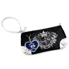 NHL Sport Luxe Fan Wristlet Bag