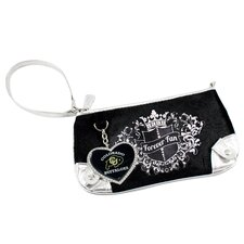 NCAA Sport Luxe Fan Basketball Wristlet Bag