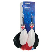 NBA Fan Feather Earrings