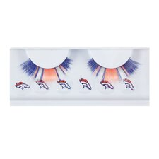 NFL Eyelash Extensions with Beauty Marks