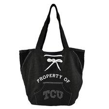 NCAA Sport Noir Hoodie Shopper Tote Bag