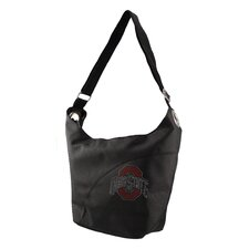 NCAA Sport Noir Color Sheen Tote Purse