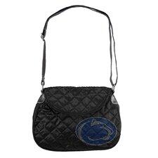 NCAA Sport Noir Quilted Shoulder Bag