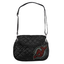 NHL Sport Noir Quilted Shoulder Bag