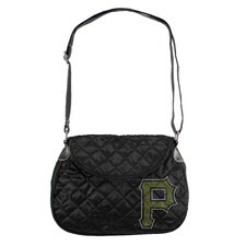 MLB Sport Noir Quilted Shoulder Bag
