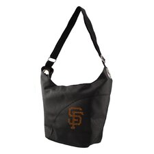 MLB Sport Noir Color Sheen Hobo Bag