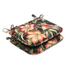 <strong>Pillow Perfect</strong> Botanical Glow Seat Cushion (Set of 2)