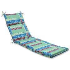 <strong>Pillow Perfect</strong> Grillin Chaise Lounge Cushion
