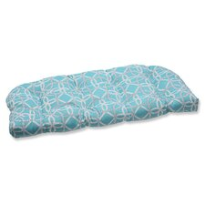 Keene Wicker Loveseat Cushion