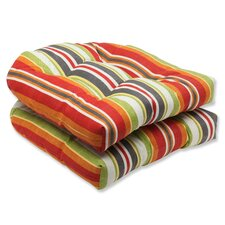 <strong>Pillow Perfect</strong> Roxen Wicker Seat Cushion (Set of 2)