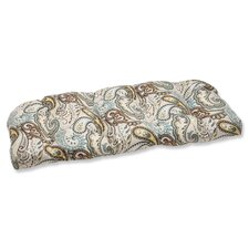 <strong>Pillow Perfect</strong> Tamara Wicker Loveseat Cushion