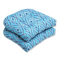 <strong>Pillow Perfect</strong> Centro Wicker Seat Cushion (Set of 2)