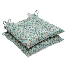 Centro Wrought Iron Seat Cushion (Set of 2)