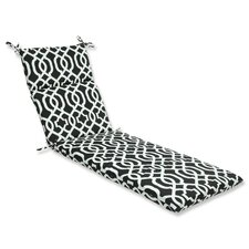 <strong>Pillow Perfect</strong> New Geo Chaise Lounge Cushion