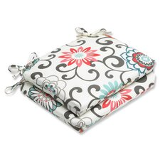 <strong>Pillow Perfect</strong> Pom Pom Play Seat Cushion (Set of 2)