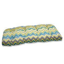 Zig Zag Wicker Loveseat Cushion