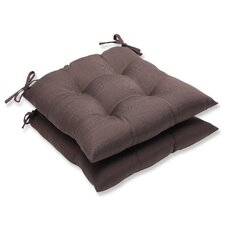 Forsyth Wrought Iron Seat Cushion (Set of 2)