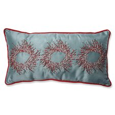 Christmas Wreaths Throw Pillow
