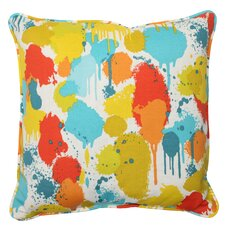Paint Splash Throw Pillow (Set of 2)