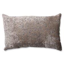 Tuscany Dots Flax Cut Rectangular Throw Pillow