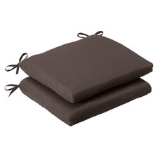 <strong>Pillow Perfect</strong> Outdoor Squared Seat Cushion (Set of 2)