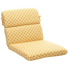 Outdoor Rounded Chair Cushion