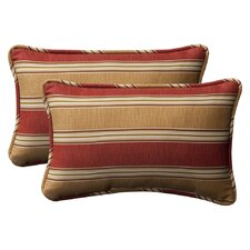 Decorative Rectangle Toss Pillow (Set of 2)