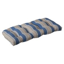 Outdoor Wicker Loveseat Cushion