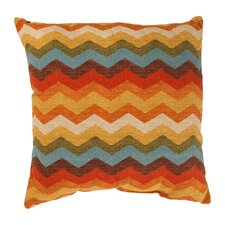 Panama Wave Throw Pillow