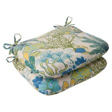 <strong>Pillow Perfect</strong> Splish Splash Seat Cushion (Set of 2)