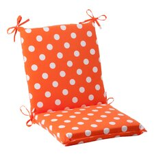 <strong>Pillow Perfect</strong> Polka Dot Chair Cushion