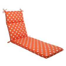 Polka Dot Chaise Lounge Cushion