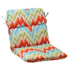 <strong>Pillow Perfect</strong> Flamestitch Chair Cushion