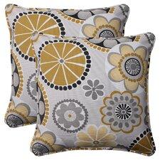 Rondo Corded Throw Pillow (Set of 2)